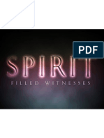 Spirit Filled Witnesses