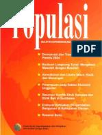 Populasi Volume 19, Nomor 1, Tahun 2009