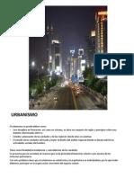 Urbanismo Unidad 1