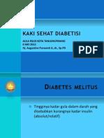 Kaki Sehat Untuk Diabetisi