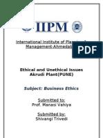 Jhm Ethics Akrudi