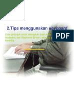 Tip Menggunakan Keyboard