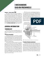 Free hub mechanisms and thread on freewheels