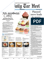 The Daily Tar Heel for October 3, 2012