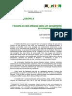 Luis Carlos Ferreira Dos Santos - Filosofia de Raiz Africana Como Um Pensamento Da Complementaridade
