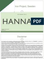 Hannans' Kiruna Iron Project