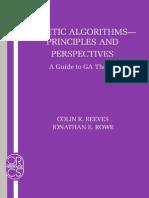 Algoritmos Geneticos Guia y Teoria