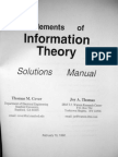 Cover and Thomas - Elements of Information Theory 1ed Solutions (Wiley, 1992)