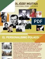 Karol Wojtyla y El Personalismo Polaco