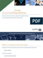 Using Liferay Portal as an E-Learning Platform
