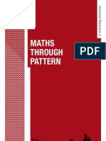 Maths Through Pattern