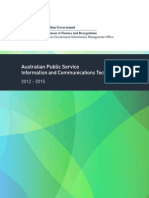 Australian Public Service Information and Communications Technology Strategy 2012 – 2015