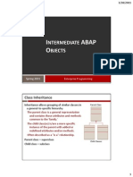 08 Intermediate ABAP Objects Student Version
