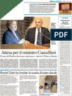 Attesa per il ministro Cancellieri - Il Resto del Carlino del 2 ottobre 2012