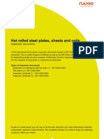 Ruukki Hot Rolled Steels Inspection Document