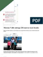 20-09-2012 Sexenio Puebla - Moreno Valle Entrega 236 Nuevos Taxis Locales
