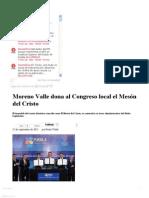 25-09-2012 Sexenio Puebla - Moreno Valle dona al Congreso local el Mesón del Cristo