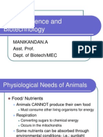 Unit F- Animal Science in Biotechnology