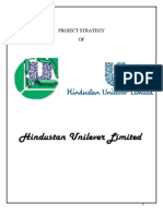 PROJECT STRATEGY  OF HUL