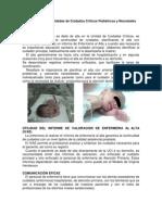 p.a.e. en Un Alta Pediatrica