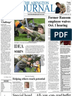 The Abington Journal 10-03-2012