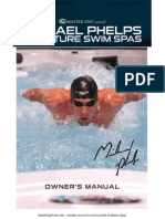 MP Swim Spa Master Spas Owners Manual