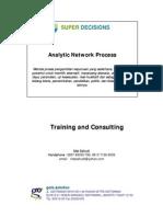 Analytic Network Process - Pengenalan