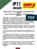 STOP persecución sindical 2