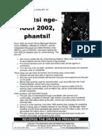 Van Der Walt - Phantsi NgeIgoli 2002 Phantsi