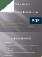 Ppt Hukum Newton Gerak