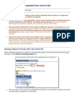PeopleSoft Run Control IDs