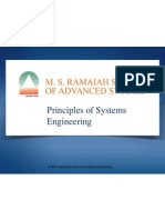 Principles of Systems Engineering