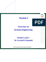 Sytem Engineering Overview