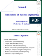 Foundations of Systems Engineering