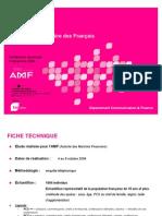 L'Education financière des Français. Enquête AMF de décembre 2004- TNS SOFRES