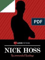 Nick Hoss Reading List