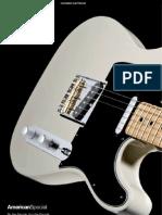 Fender Catlogo