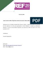 Carta de Aceite Anahi Felipe e Miriam