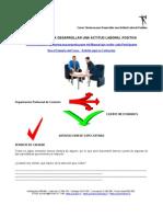 ADM 591 - Técnicas para Desarrollar una Actitud Laboral Positiva