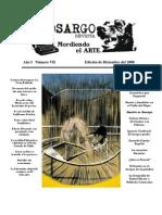 Revista Cinosargo edición de diciembre número VII