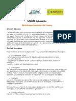 Charte cybercentre 2006