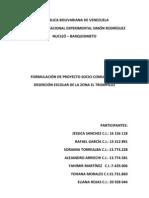Capituli i Formulacion de Proyecto