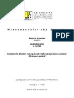 Reinhold Schinwald-risonanze erranti