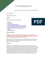 Creating PDF Reports