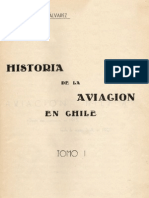 Historia de la Aviacion en Chile, 1913-1924, Tomo 1