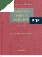 MEDICINA LEGAL Y TOXICOLOGIA - Gisbert Calabuig, J. A. & Villanueva Cañadas, E