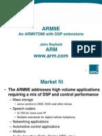 ARM9E - Rayfield - 8.16.1999