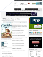 '100 Greatest Books for Kids' -