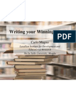 Writing Your Winning Thesis