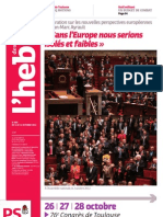 L'hebdo des socialistes - n°666